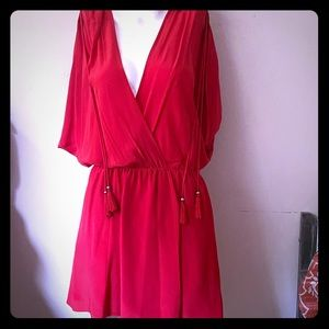 NWT Plenty by Tracy Reese Red Dress
